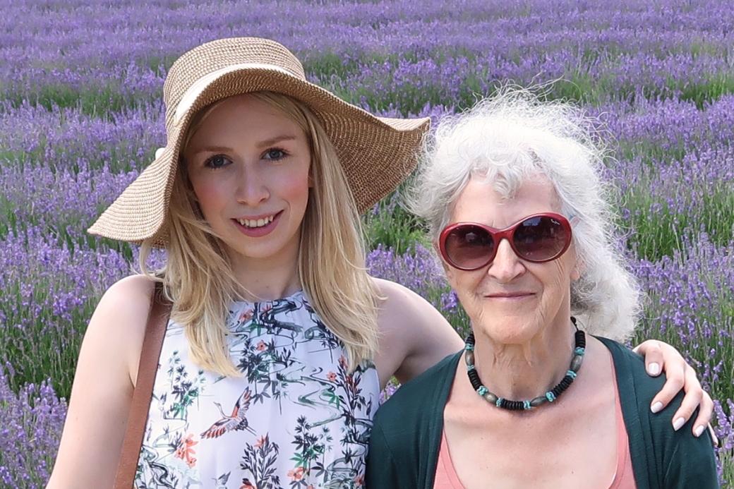Me & Gran - Lordington Lavender