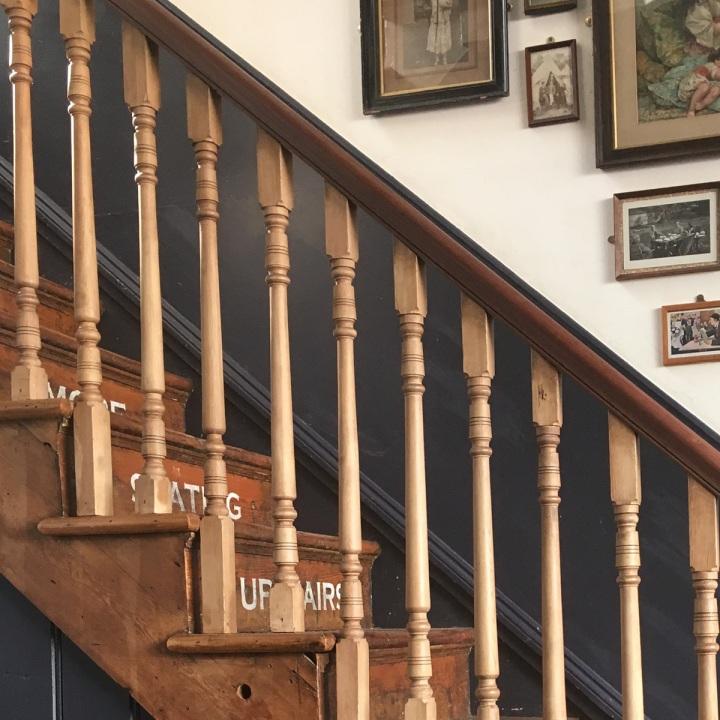 Blackbird Tea Rooms Staircase