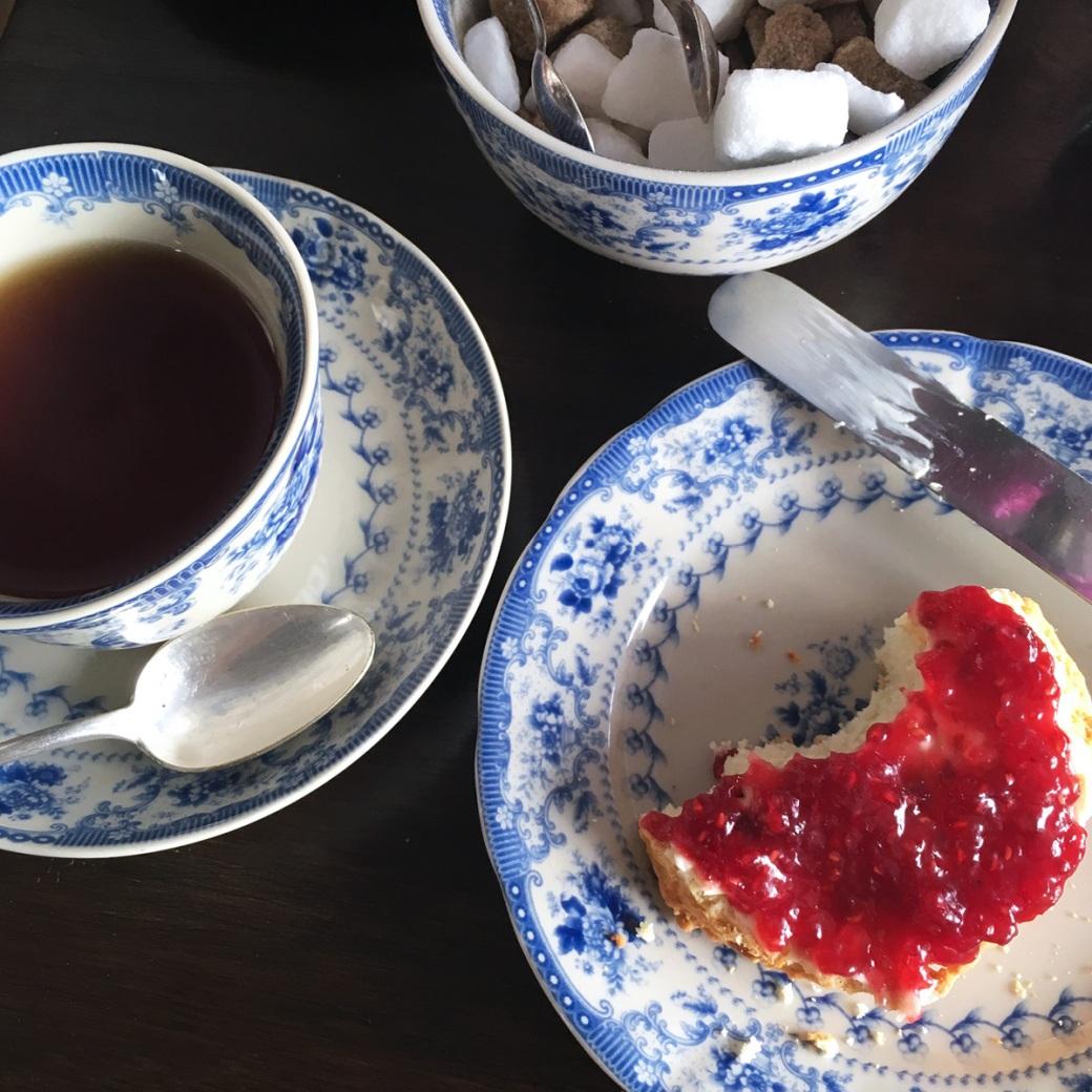 Blackbird Tea Rooms Cream Tea