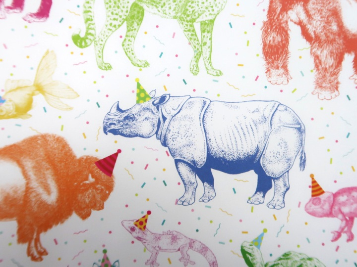 zoological gift wrap