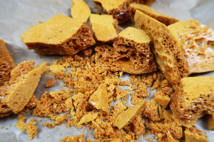 christmas honeycomb recipe