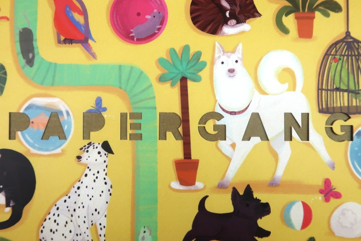 papergang october box - animal stationery