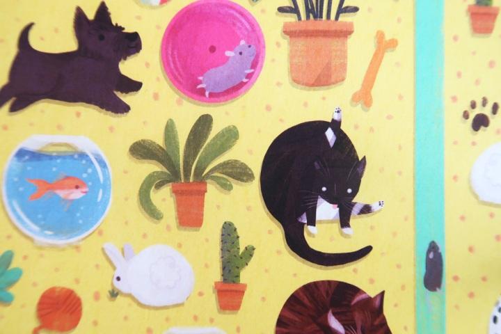 papergang october box - animal stationery