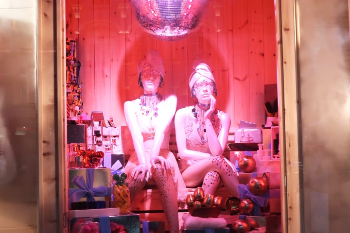 Selfridges Christmas Windows 2016