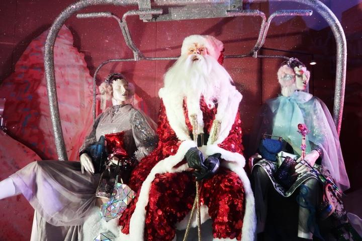 selfridges christmas windows 2016