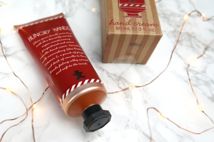 zoella gingerbread hungry hands hand cream review