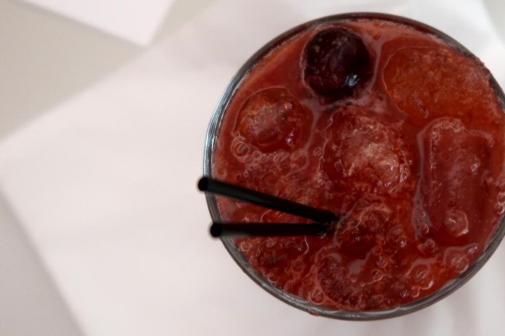 paradiso bar and dining brighton restaurant cherry jack cocktail