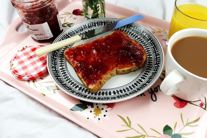breakfast in bed sunday bluebelle & co tray