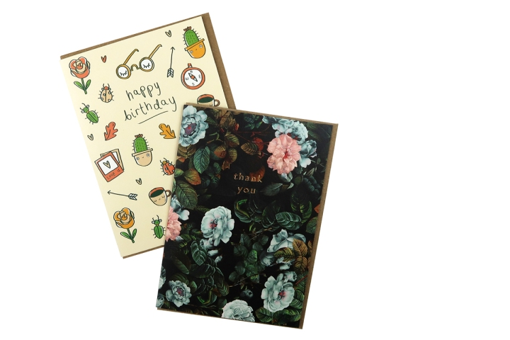 papergang arden rose may greeting cards