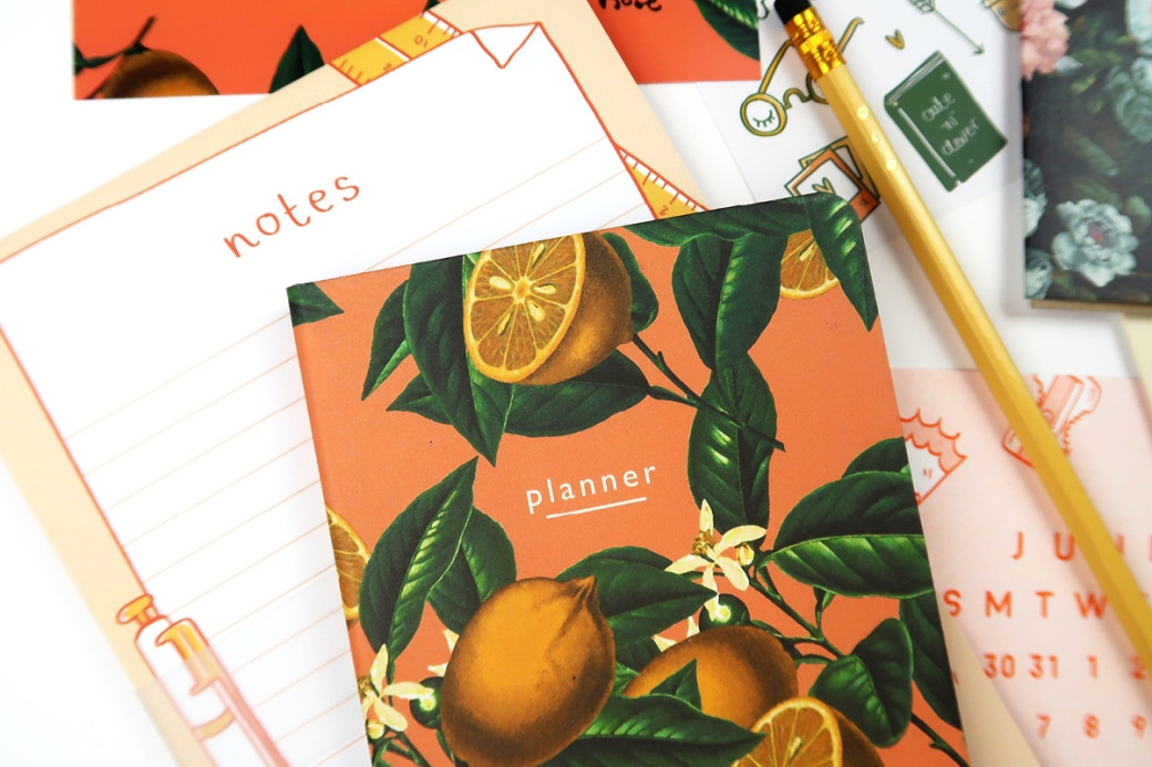 papergang arden rose may planner