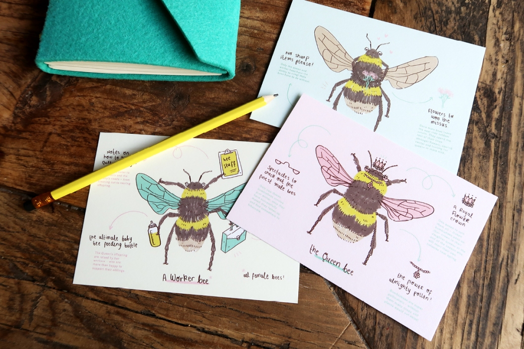 PAPERGANG JUNE 2017 bumblebee conservation trust stationery