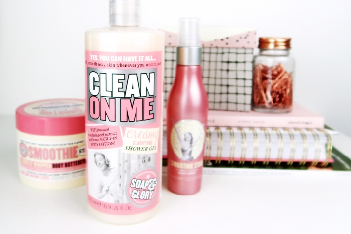 Soap and Glory Clean on Me and Smoothie Star Review