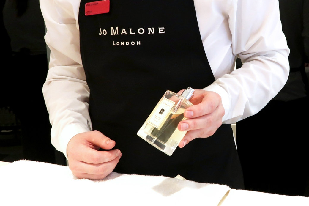 jo malone london chichester demonstration