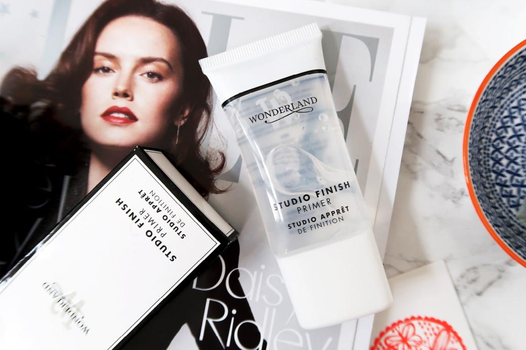 wonderland makeup flatlay - primer